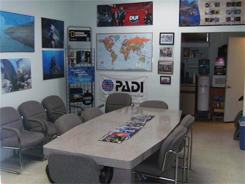 Toucan Dive Shop Classroom