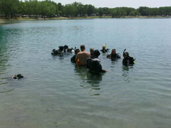 Local Diving at Pearl Lake