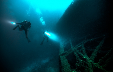 Lake Huron Wreck Diving  July 26 and 27