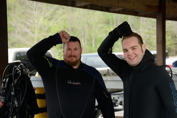 Certification weekend scuba diving Mermet Springs