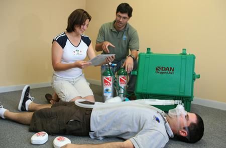 DAN Oxygen Provider Course