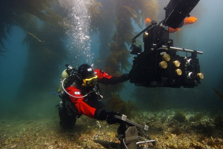 DUI dry suit diving