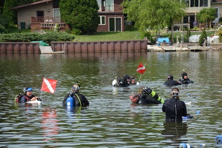 Grayslake Underwater Cleanup