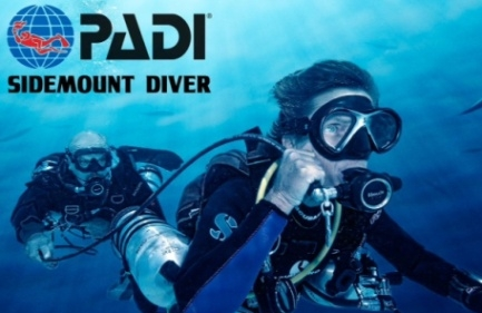 padi side mount divers