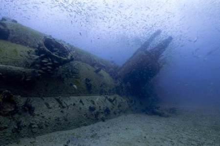 wreck diving North carolina